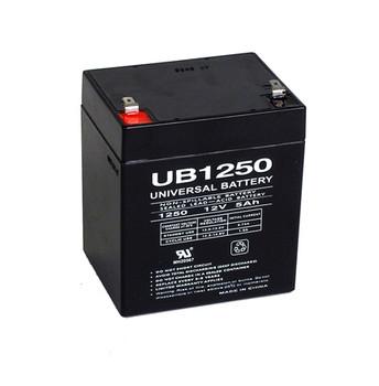 Clockmate Batteries PSLA1204 Battery