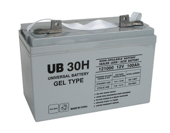 CSB/Prism GH12840 Replacement Battery - UB30H/Gel