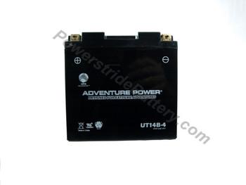 Adventure Power UT14B-4 AGM Motorcycle Battery
