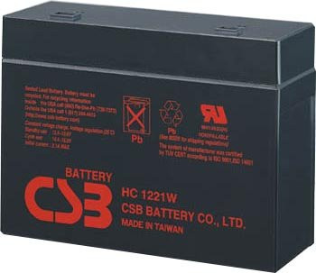Cyberpower Systems Power99 CPS500VA UPS Battery - HC1217W