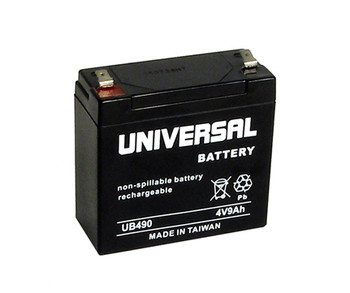Dual Lite 4V 5AH 12770 D8-12770 Pack Replacement Battery