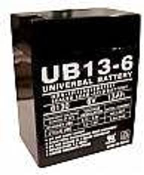 Emergi-Lite 12LSM6 Emergency Lighting Battery