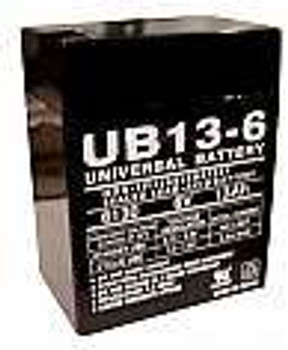 Emergi-Lite 6TSM4 Emergency Lighting Battery