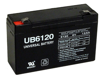 Replacement for Interstate Battery PC6100 Emergency Lighting Battery