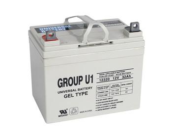 Invacare New Nutron R32 Gel Wheelchair Battery