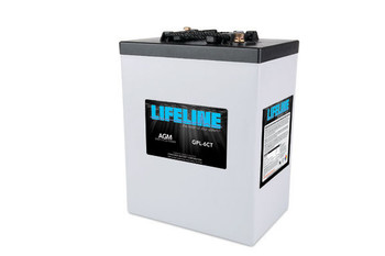 Lifeline GPL-6CT - 6 Volt Deep Cycle AGM Battery