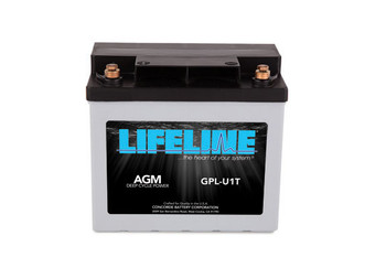 Lifeline GPL-U1T Deep Cycle AGM Battery
