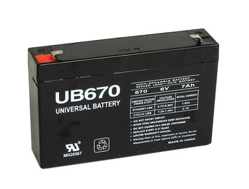 Lightalarms PB28D Emergency Lighting Battery - Model UB670
