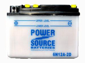 6N12A-2D Battery by Power Source