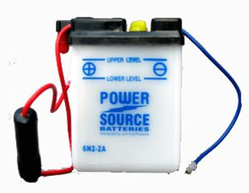 6N2-2A Battery by Power Source