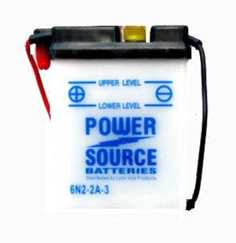 6N2-2A-3 Battery by Power Source