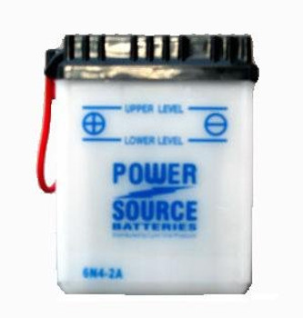 6N4-2A Battery by Power Source