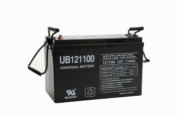MAXRATE MR12-400 Battery Compatible Replacement