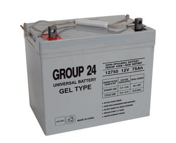 Merits Health Products Big Boy Regal Gel Wheelchair Battery