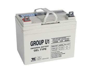 Merits Health Products MP1IN-FR Gel Wheelchair Battery