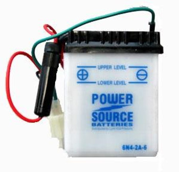 6N4-2A-6/8 Motorcycle Battery