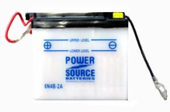 6N4B-2A Motorcycle Battery