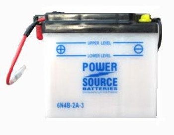 6N4B-2A-3 Motorcycle Battery