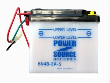 6N4B-2A-5 Motorcycle Battery