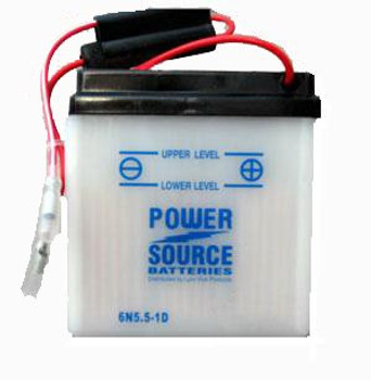 6N5.5-1D Motorcycle Battery
