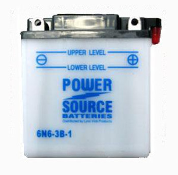 6N6-3B-1 Motorcycle Battery