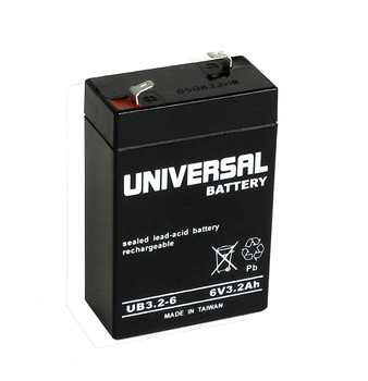 Potter Electric PFC-100R / PFC100 Alarm Battery - Model UB632