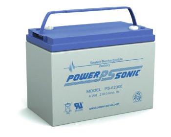 Power-Sonic Battery PS-62000 6 Volt 210 AH Battery