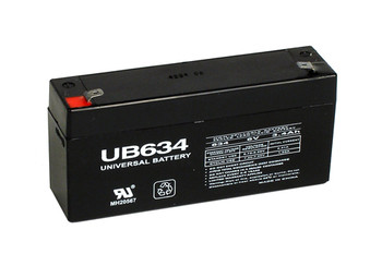 PPG Biomedical Systems EKG Scriptor Battery