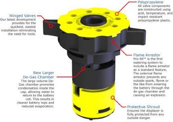 Pro-Fill Watering Kits Valve w/ Bayonet Cap w/ Flame arrestor
