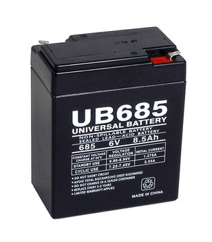 Radiant 6PS68E Emergency Lighting Battery