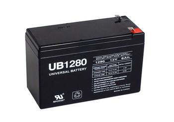 Radionics D12612V Battery