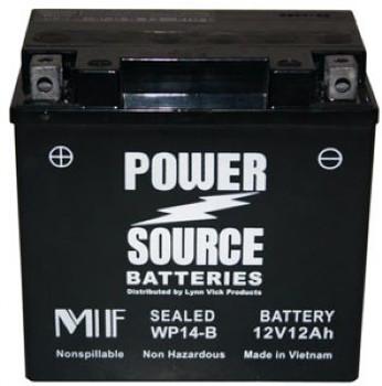 Suzuki LT-4WD QuadRunner ATV Battery