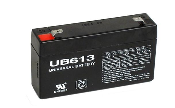 6 Volt 1.3 Ah SLA Battery - UB613 SLA Battery (D5731)