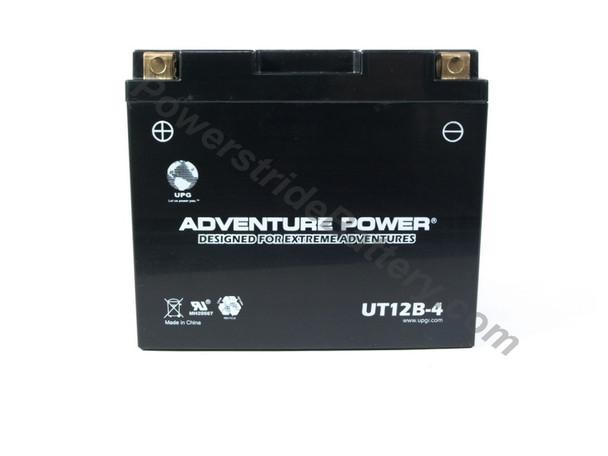 Adventure Power UT12B-4 AGM Motorcycle Battery - YT12B-BS