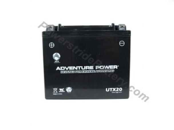 Adventure Power UTX20 AGM Motorcycle Battery - YTX20