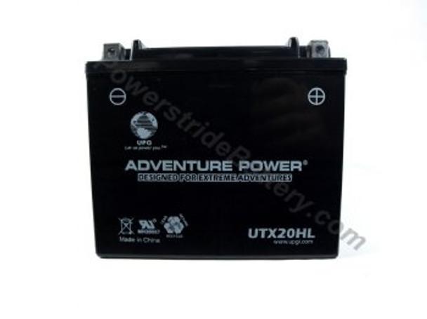 Adventure Power UTX20HL AGM Battery - YTX20HL-BS