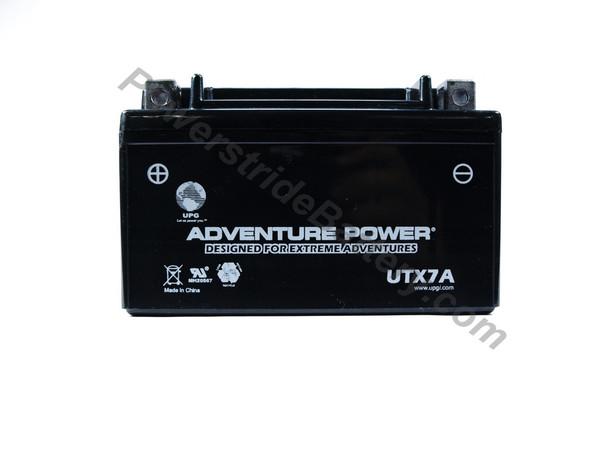 Adventure Power UTX7A AGM Battery - YTX7A-BS