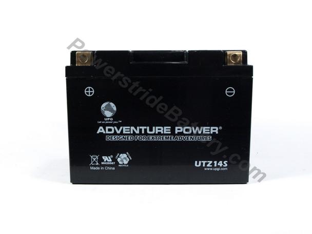 Adventure Power UTZ14S AGM Motorcycle Battery - YTZ14S