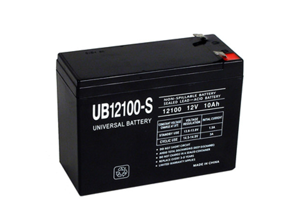 12 Volt 10 Ah SLA Battery - UB12100-S