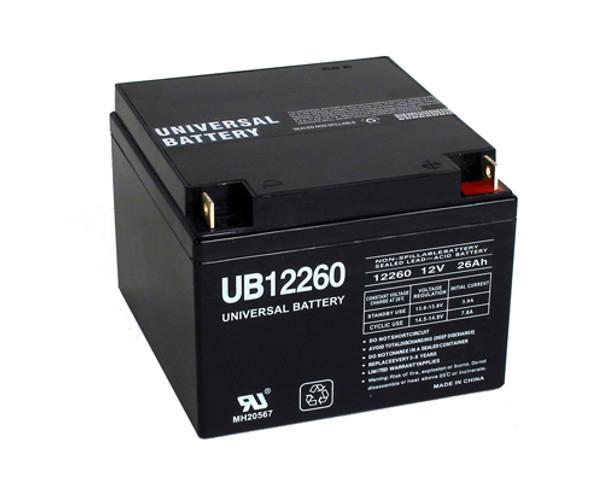 12 Volt 26 Ah SLA Battery - UB12260