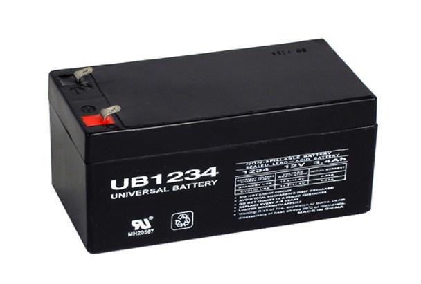 12 Volt 3.4 Ah SLA Battery - UB1234
