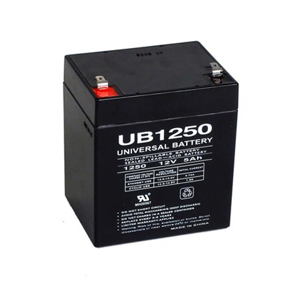 12 Volt 5 Ah SLA Battery - UB1250F2