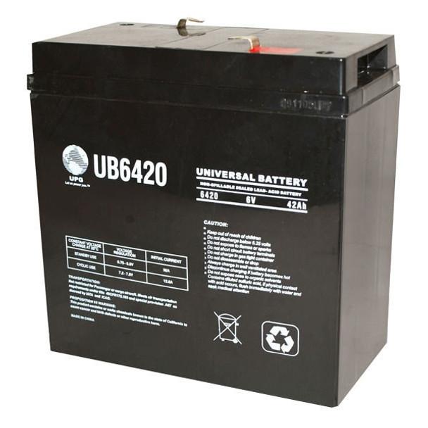 6 Volt 42 Ah SLA Battery - UB6420