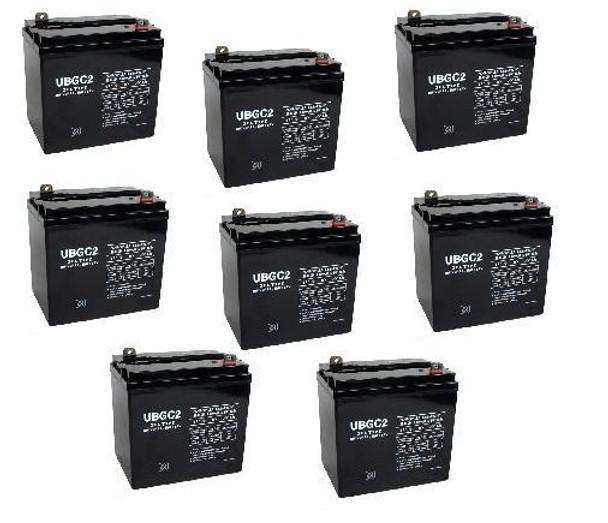 6 Volt AGM Golf Cart Batteries - SET OF 8 - UB-GC2