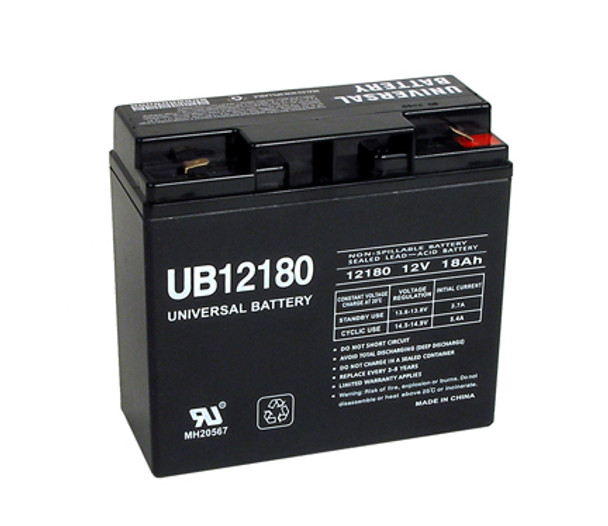 12 Volt 18 Ah SLA Battery - UB12180F2