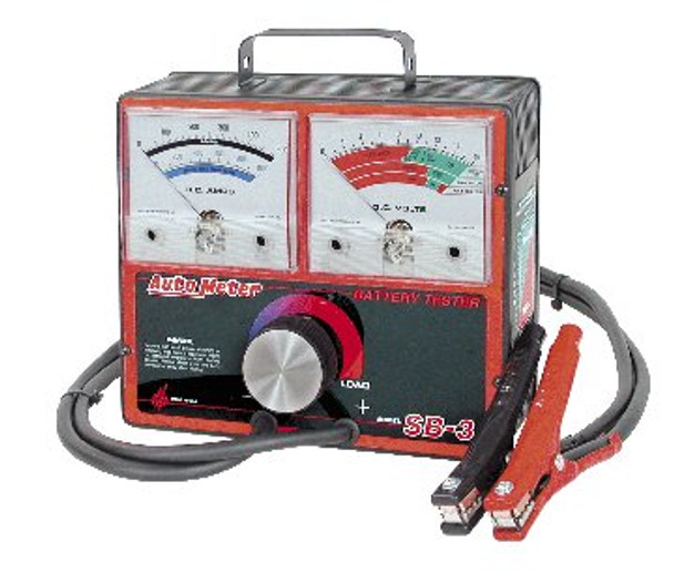 Auto Meter SB-3 500 Amp Variable Load Battery/Electrical System Tester