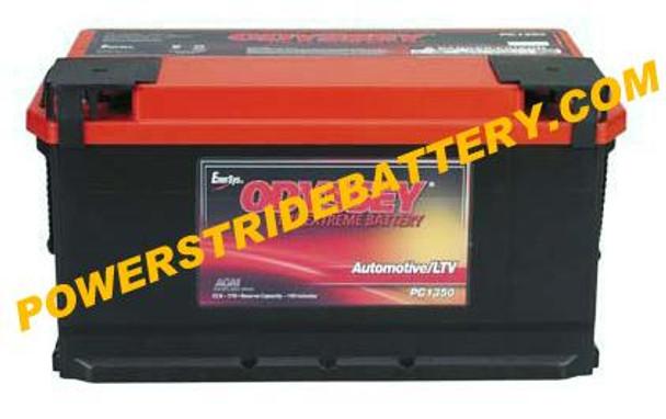 Audi A4 Quattro Battery (2009-2007, V6 3.2L)