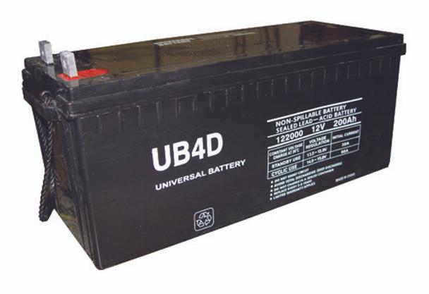 B&B BP160-12 Battery - 4D AGM