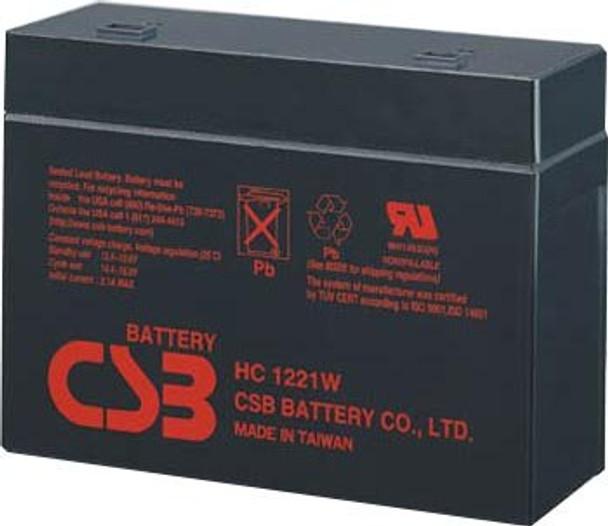 Best Power 425 UPS Battery - HC1217W