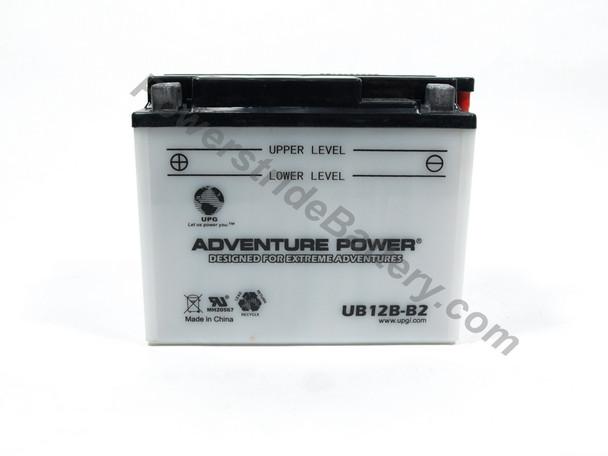 Adventure Power UB12B-B2 Battery (YB12B-B2)
